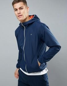 Ветровка с капюшоном Calvin Klein Golf - Темно-синий