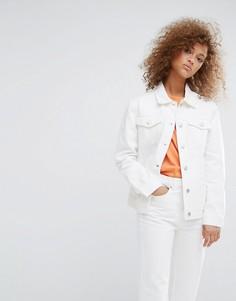Джинсовая куртка Weekday - Белый