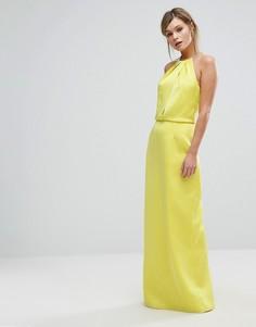 Платье макси с цепочкой Ted Baker - Желтый