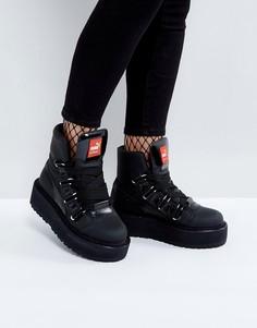 Ботинки на шнуровке с люверсами Puma x Fenty By Rihanna - Черный