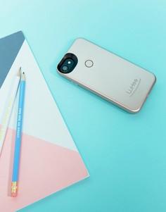 Розовый матовый чехол для iPhone 6/6S/7 LuMee - Мульти