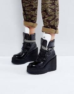 Ботинки на танкетке Puma x Fenty By Rihanna SB - Черный