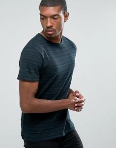 Жаккардовая футболка D-Struct - Черный