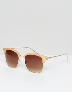 Солнцезащитные очки в стиле ретро AJ Morgan - Золотой