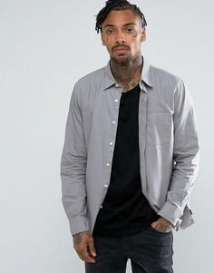 Рубашка классического кроя Brixton Alder - Серый