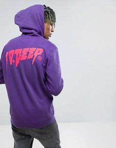 Худи с логотипом на спине 10 Deep - Фиолетовый