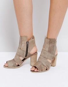 Туфли на блочном каблуке Free People - Серый
