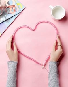 Светильник в форме сердца New Look - Розовый