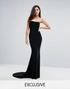 Платье-бандо макси Club L - Черный