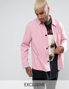 Розовая рубашка в спортивном стиле Reclaimed Vintage Inspired - Розовый