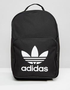Черный рюкзак с логотипом-трилистником adidas Originals - Черный