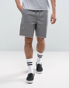 Шорты с затягивающимся шнурком на талии Brixton - Серый