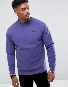 Фиолетовый свитшот Fila Vintage - Белый