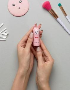 Бальзам для губ в форме кролика In Unicorns We Trust - Strawberry - Прозрачный