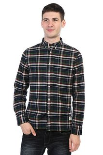 Рубашка в клетку Penfield Barrhead Check Shirt Blue
