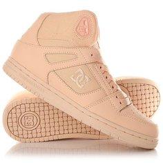 Кеды кроссовки высокие женские DC Shoes Rebound High Peach Cream