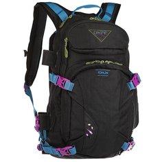 Рюкзак туристический женский Dakine Heli Pro Dlx 18 L Black Ripstop