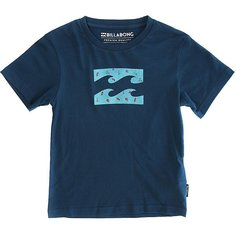 Футболка Billabong Team Wavess Toddler Dark Marine