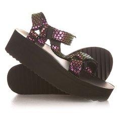 Сандалии женские Teva Flatform Universal Iridescent Black