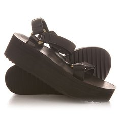 Сандалии женские Teva Flatform Universal Crafted Black