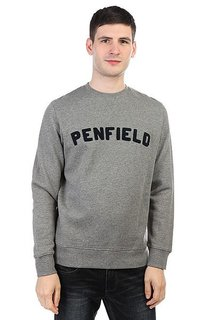 Толстовка свитшот Penfield Brookport Sweat Grey