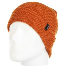 Шапка Fred Perry Heist Beanie Burnt Orange