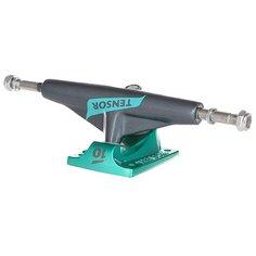 Подвески для скейтборда для скейтборда 2шт. Tensor Alum Lo Flick Gunmetal/Mint 5 (19.7 см)