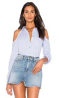 Рубашка на пуговицах с вырезами на плечах - BCBGeneration