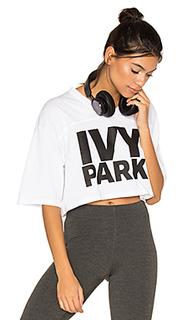 Укороченная футболка с логотипом - IVY PARK