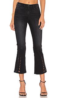 Укороченные расклешенные брюки midway dot - 3x1