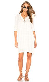 Полосатое платье со шнуровкой sandbar - Splendid