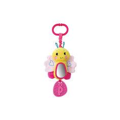 """Игрушка-подвеска Жирафики """"Бабочка"""", розовая"""