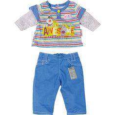 Одежда стильная для мальчика, синие штаны, BABY born Zapf Creation