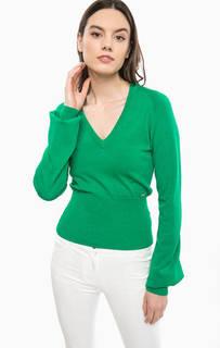 Зеленый джемпер с вырезом на спине Marciano Guess