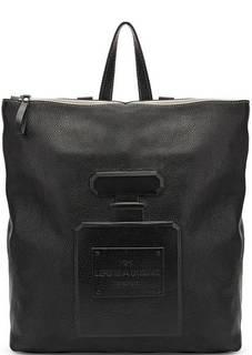 Сумка-рюкзак из натуральной кожи с тиснением Io Pelle