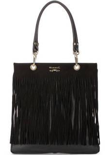Кожаная сумка с двумя ручками Marina C.