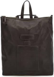 Сумка-рюкзак из мягкой кожи на молнии Io Pelle