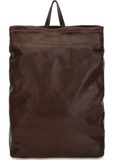 Коричневый рюкзак из натуральной кожи Campomaggi
