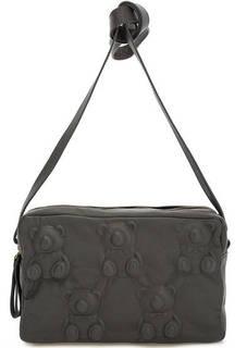 Маленькая кожаная сумка с двумя отделами Io Pelle