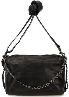 Маленькая кожаная сумка через плечо Campomaggi