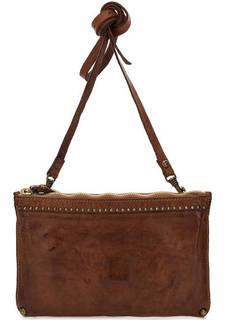 Кожаная сумка с тонким плечевым ремнем Campomaggi