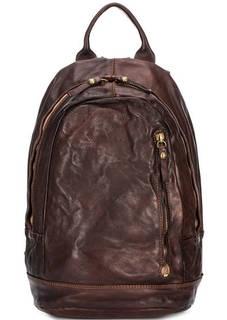 Коричневый кожаный рюкзак Campomaggi