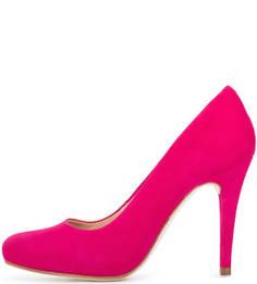 Замшевые туфли на высоком каблуке Unisa