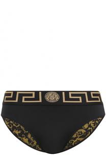Плавки с широкой резинкой Versace