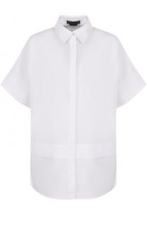 Блуза свободного кроя с укороченными рукавами Alice + Olivia