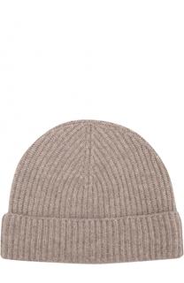 Кашемировая шапка фактурной вязки Johnstons Of Elgin
