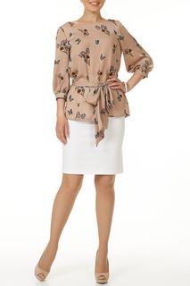 Блузка с поясом Argent