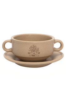 Суповая чашка на блюдце, 0,3 л TERRACOTTA