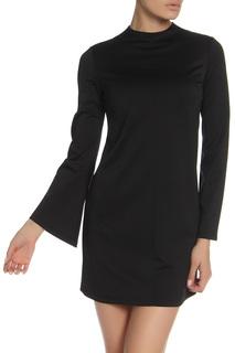 Короткое платье с расклешенным рукавом MARIEM