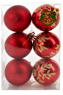 Набор шаров, 6 см Monte Christmas